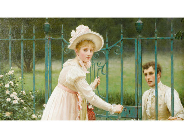 Edmund Blair Leighton, ROI (British, 1853-1922) Where there's a will