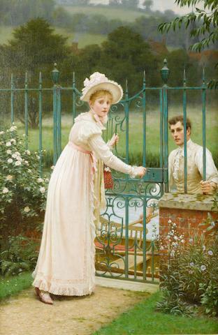 Edmund Blair Leighton, ROI (British, 1853-1922) Where there's a will