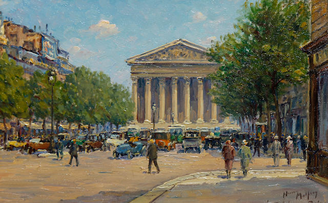 Henry Malfroy (French, 1895-1944) La Madeleine, Paris