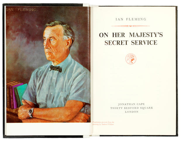 FLEMING (IAN) On Her Majesty's Secret Service, ONE OF 250 COPIES, 1963