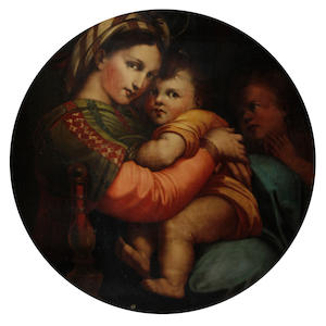 After Raffaello Sanzio, called Raphael, 19th Century Madonna della Sedia