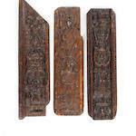 A group of late 16th/early 17th Century carvings