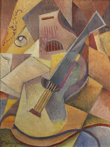 Jean Metzinger (French, 1883-1956) Guitare