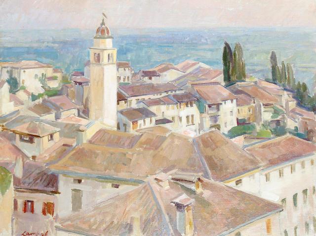 Henry Lamb (British, 1883-1960) Asolo, Italy