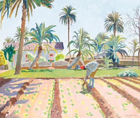 Rudolph Ihlee (British, 1883-1968) Gardener