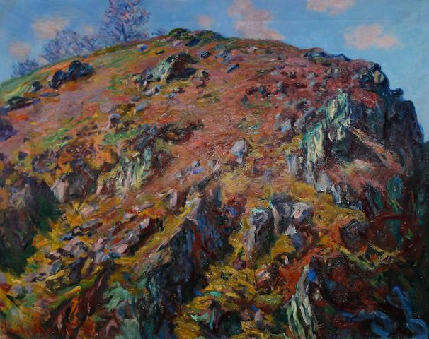 Sir Gerald Festus Kelly (British, 1879-1972) Le Bloc, Creuse (After Monet)