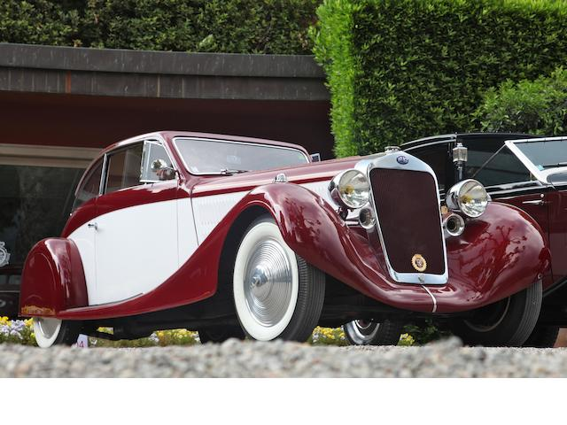 1935 Delage D8 105 S Coupé, Chassis no. 40123 Engine no. 6S
