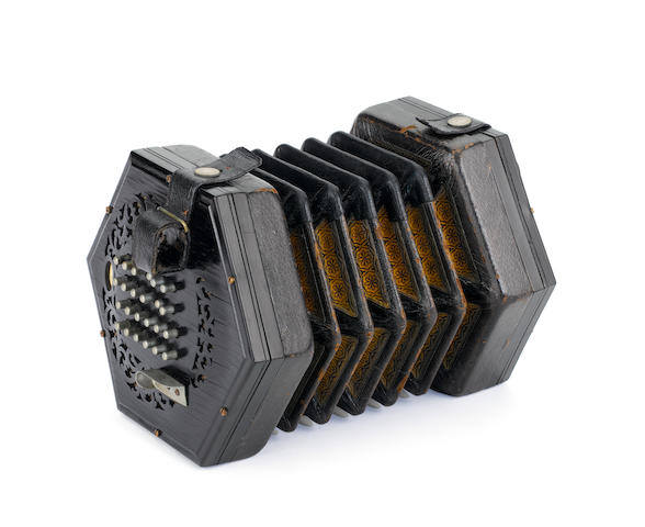 An English Concertina by C. Wheatstone & Co, London, circa 1910 (2)