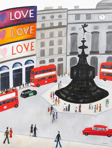 Robert Hardy (British, born 1952) Piccadilly Circus