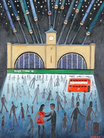 Robert Hardy (British, born 1952) 'Kings Cross at night'