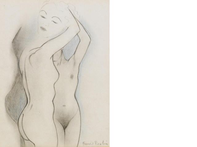 Francis Picabia (1878-1953) Visage et torses de femmes