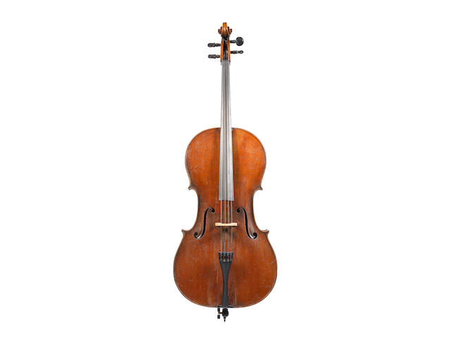 A Cello of the Vosges School, circa 1900 (3)
