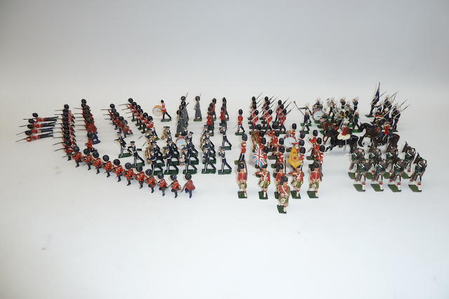 Britains hollowcast and New Toy Soldiers, British Army in full dress 138