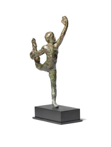 Auguste Rodin (1840-1917) Mouvement de danse, étude type E (excluding base)