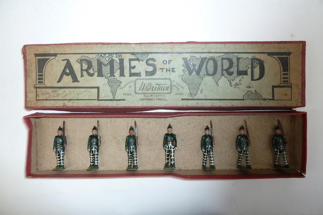 Britains RARE set 1913, Cameronian Rifles 7