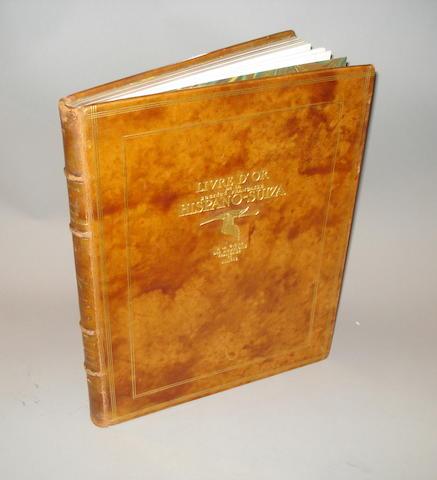 Livre D'Or De La Societe Francaise Hispano-Suiza