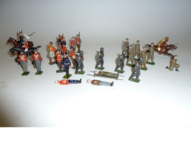 Britains toy soldiers 200 approx excuding spare parts