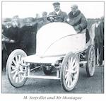 A 1901 highly important Arts & Crafts sterling silver Automobile Club 'Whitmonday Bexhill Speed Trials 1902' winner's trophy, by C R Ashbee, awarded to Leon Serpollet, The first ever automobile race to be held on British soil,