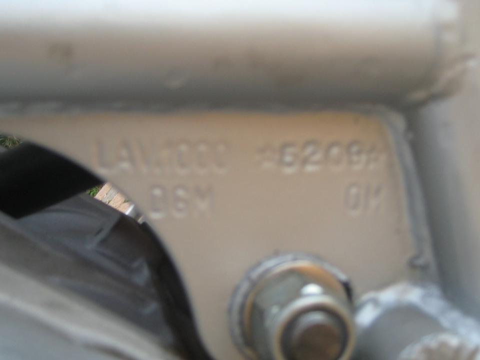 1986 Laverda SFC1000 Production Racing Motorcycle Frame no. 1000*5209 Engine no. 1000*5209