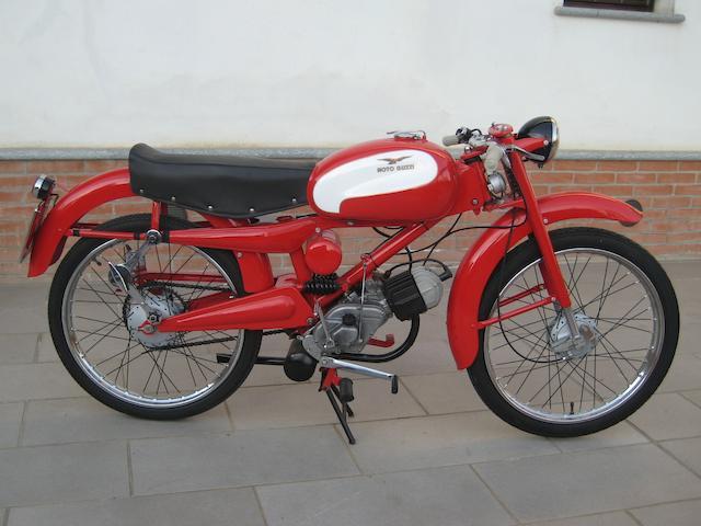 1957 Moto Guzzi Cardellino 65 Frame no. BCE 70