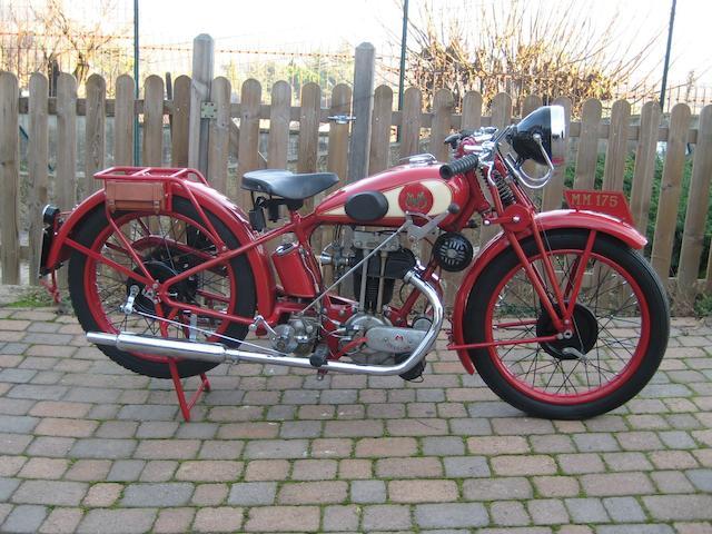 1934 MM 175cc Sport Frame no. 30A 555 Engine no. 3241317
