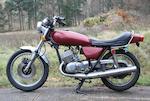 1975 Kawasaki 498cc Mach III/H1 Frame no. H1F37408 Engine no. H1F38066