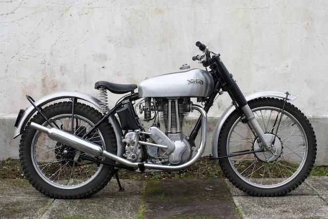 Ex-Chick Gibson,1948 Norton 490cc 500T Trials Frame no. 19878 Engine no. D3T 19878