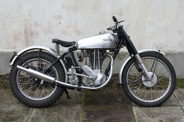 1949 Norton 500cc 500T Trials (ZE 5177),
