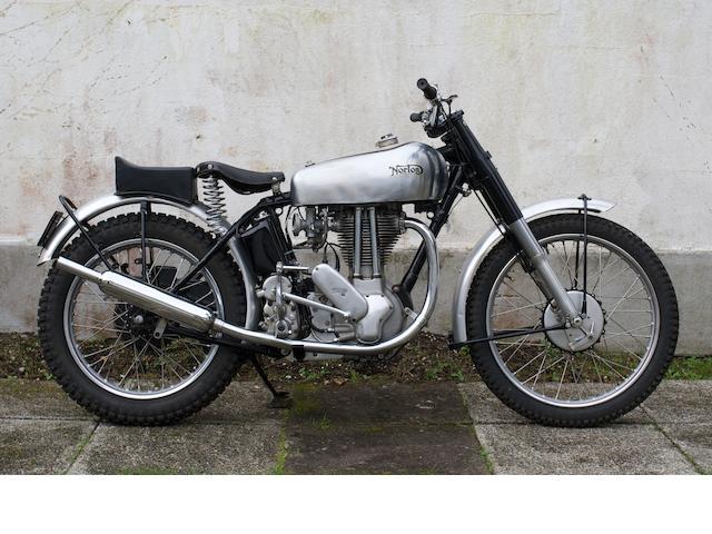 c.1950 Norton 500cc 500T Trials (ZJ 6301),