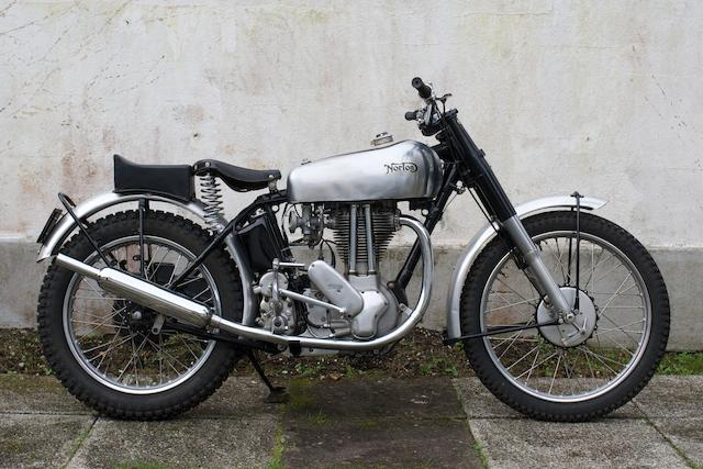 c.1950 Norton 500cc 500T Trials (ZJ 6301),