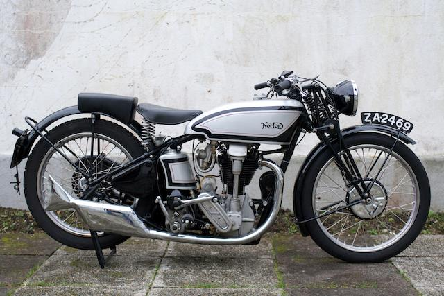 1934 Norton 350cc International,