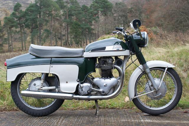 1960 Norton 596cc Dominator 99 Deluxe Frame no. 91526 Engine no. 91526