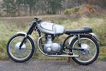 1957 Parilla 175cc Turismo Frame no. 501606 Engine no. 501606