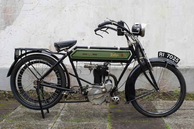 c.1912 Rudge Whitworth 499cc 3½hp,