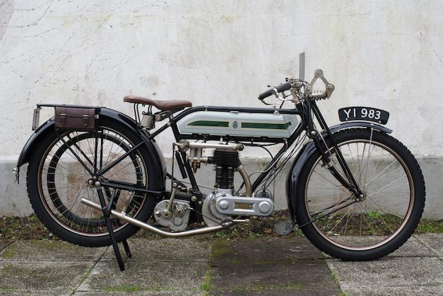 1914 Triumph 4hp 550cc Model H,