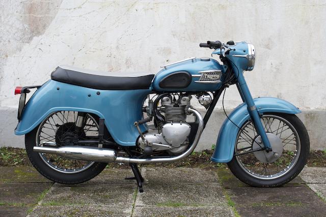 1961 Triumph 490cc 3TA Frame no. H23487 Engine no. 3TA H23487