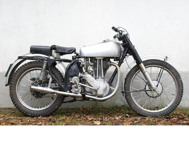 Norton 500cc 500T Trials Swinging Arm conversion