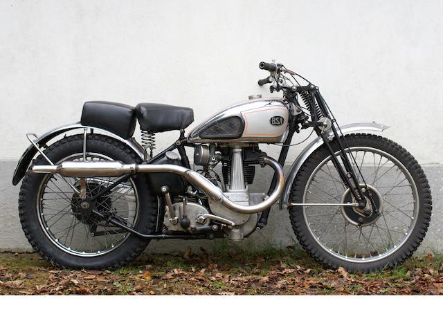 1939 BSA 350cc B25 Competition (Stanley Woods),