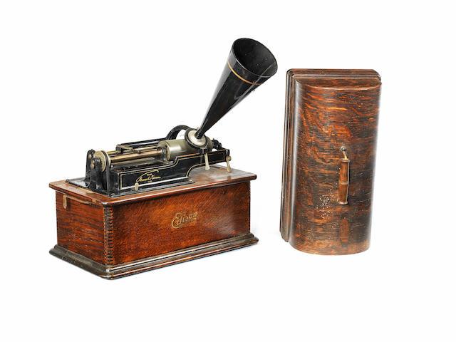 An Edison Home phonograph, Model B,