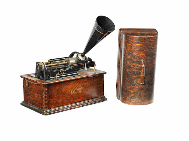An Edison Home phonograph, Model B,