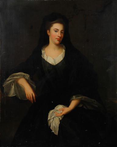 Circle of John Vanderbank (London 1694-1739) Portrait of a lady