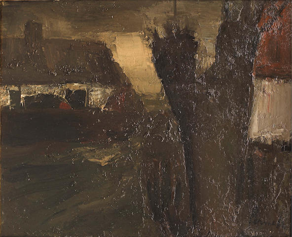 Constant Permeke (Belgian, 1886-1952) La ferme au saule