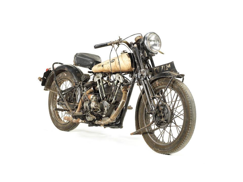 1932 Brough Superior Black Alpine 680 Frame no. H1204 Engine no. GTOY/27560