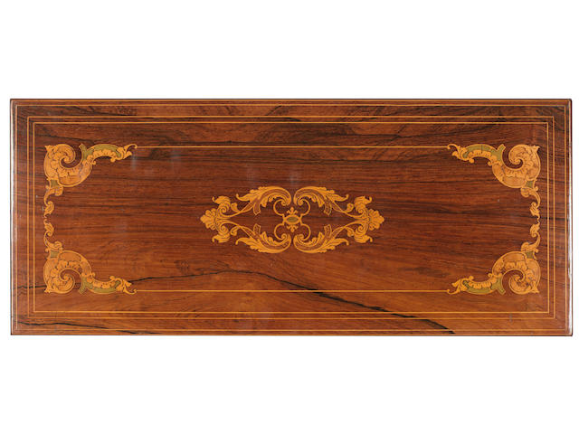A fine key-wind two-per-turn musical box, by Nicole Freres, circa 1850,