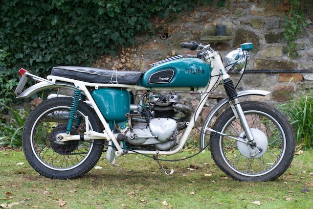 1961 Triumph 490cc 5TA Speed Twin Frame no. 17988 Engine no. 49298