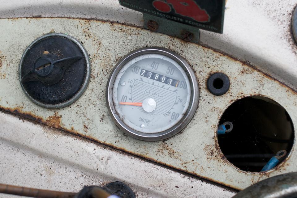 1965 Velocette 192cc Vogue Frame no. 37137 Engine no. 70823