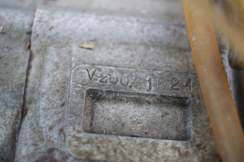 1958 Velocette 192cc Valiant Frame no. 1623 33 Engine no. V200 1624