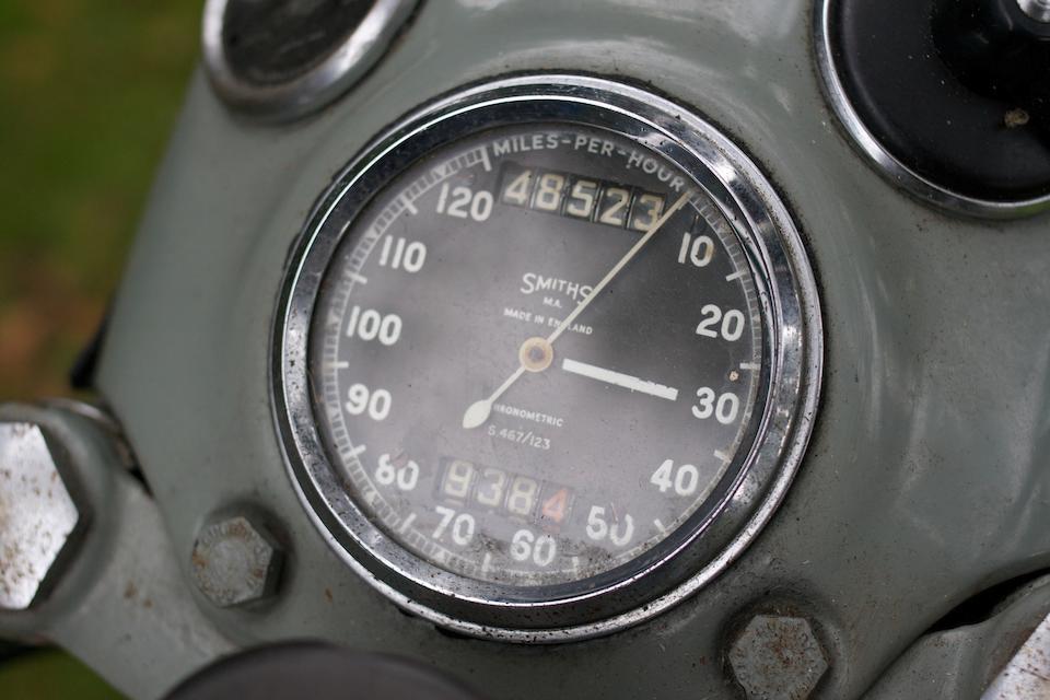 1956 Velocette 499cc Venom Frame no. RS7849 Engine no. VM1058