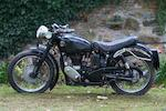c.1960 Velocette 350cc Viper Frame no. (see text) Engine no. VR3273