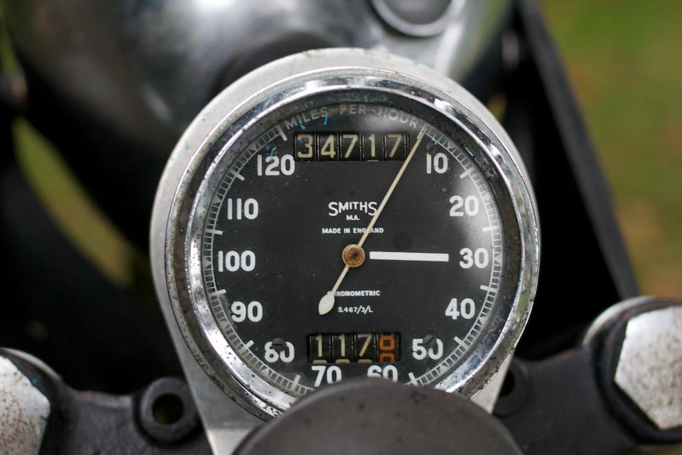 c.1960 Velocette 350cc Viper Frame no. (see text) Engine no. VR3273